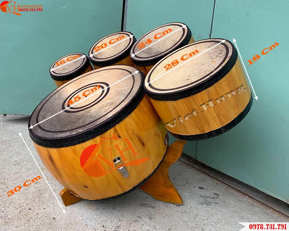 mua trống dàn lõi gỗ mít